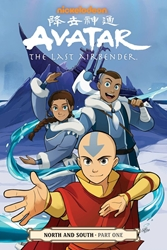 Picture of Avatar Last Airbender Vol 13 SC North and South Part 1