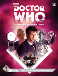 Picture of Doctor Who RPG Tenth Doctor Sourcebook HC