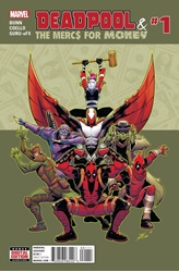 Picture of Deadpool and the Mercs for Money (2016) #1