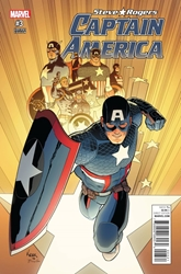 Picture of Captain America Steve Rogers #3 Kuder Cover Variant