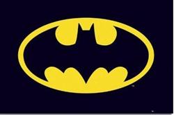 "Picture of Batman Symbol 24"" x 36"" Poster"