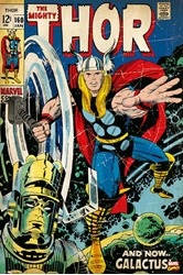 "Picture of Thor #160 Comic 24""x36"" Poster"