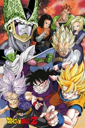 "Picture of Dragon Ball Z Cell Saga 24""x36"" Poster"