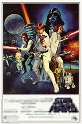 "Picture of Star Wars C Commercial 24""x36"" Poster"
