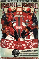 """Picture of Deadpool Battle of Chumpions 22""""x34"""" Poster"""