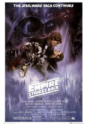 """Picture of Star Wars Empire Strikes Back Style A 24""""x36"""" Poster"""