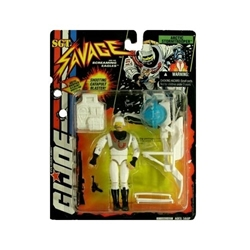Picture of GI Joe SGT Savage Arctic Stormtrooper
