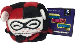 Picture of Harley Quinn Classic Kawaii Cubes Mini Plush