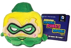 Picture of Green Arrow Kawaii Cubes Mini Plush
