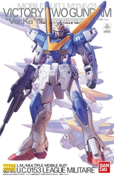 Picture of Victory Two Gundam Ver. Ka Master Grade Model Kit