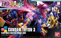 Picture of Gundam Tryon 3 Build Fighters HG 1/144 Scale Model Kit
