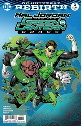 Picture of Hal Jordan & the Green Lantern Corps #3 Nowlan Cover