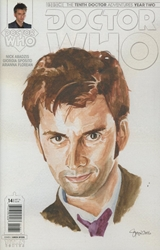 Picture of Doctor Who 10th Doctor Year Two #14 Myers Cover