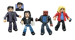 Picture of Jessica Jones Series 1 Marvel Netflix Minimates Box Set