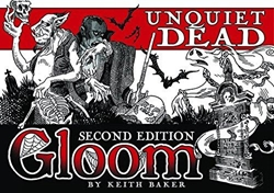 Picture of Gloom Unquiet Dead 2nd Edition