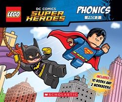 Picture of LEGO DC Super Heroes Phonics #2 Board Book Set