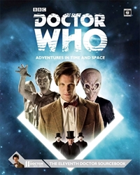Picture of Doctor Who RPG Eleventh Doctor Sourcebook HC