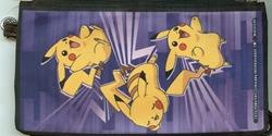 Picture of Pokemon Pikachu Poses Canvas Zipper Wallet