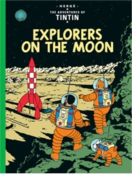 Picture of Adventures of Tintin Explorers on the Moon GN