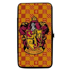 Picture of Harry Potter Gryffindor Crest Heraldry Hinged Wallet