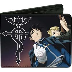 Picture of Fullmetal Alchemist Flamel Symbol Bi-Fold Wallet