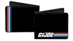 Picture of GI Joe Stripe Logo Bi-Fold Walllet