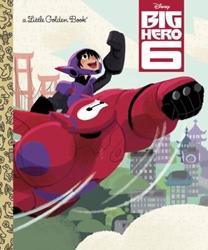 Picture of Big Hero 6 Little Golden Book