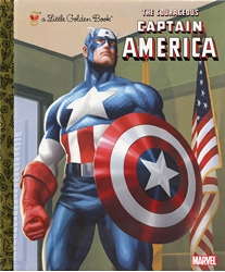 Picture of Courageous Captain America Little Golden Book