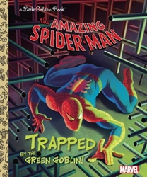 Picture of Amazing Spider-Man Trapped by the Green Goblin Little Golden Book