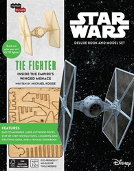 Picture of IncrediBuilds Star Wars Tie Fighter Deluxe HC and Model Set