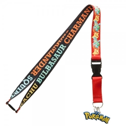 Picture of Pokemon Multi Character Lanyard