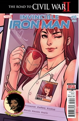 Picture of Invincible Iron Man (2015) #10 2nd Print