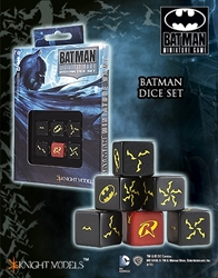 Picture of Batman Miniature Game Dice Set