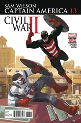 Picture of Captain America Sam Wilson #13