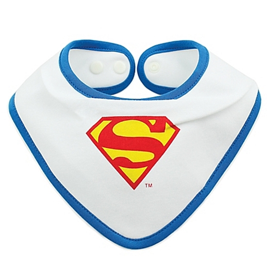 supermanprintedbandanabib