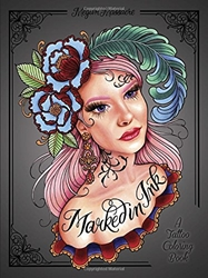 Picture of Marked in Ink SC Tattoo Coloring Book