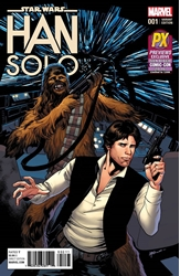 Picture of Star Wars Han Solo #1 SDCC 2016 PX Variant Cover