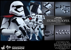 Picture of First Order Stormtrooper Officer Movie Masterpiece Series - Sixth Scale Hot Toy Figure