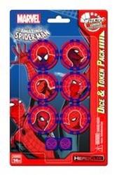 Picture of Marvel HeroClix Spider Man Dice & Token Pack