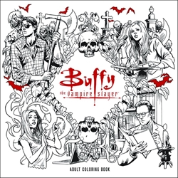 Picture of Buffy the Vampire Slayer Adult Coloring Book