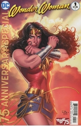 Picture of Wonder Woman 75th Anniversary Special #1 Scott Var Ed
