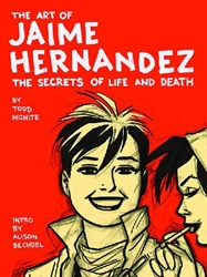 Picture of Art of Jaime Hernandez HC Secrets of Life and Death