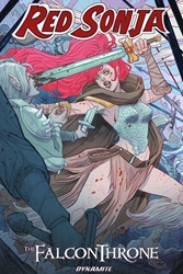 Picture of Red Sonja Falcon Throne TP
