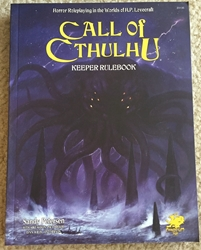 Picture of Call of Cthulhu Keeper Rulebook 7th Edition