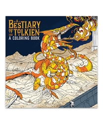 Picture of Bestiary of Tolkien Coloring Book