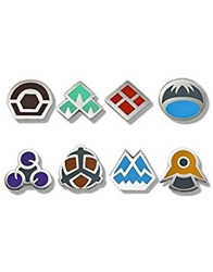 Picture of Pokemon Sinnoh League Gym Badge Boxed Set