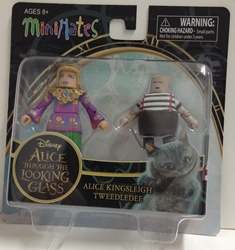 Picture of Alice Through the Looking Glass Alice Kingsleigh & Tweedledee Series 1 Minimate Figure Set