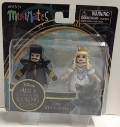 Picture of Alice Through the Looking Glass Time & White Queen Series 1 Minimate Figure Set