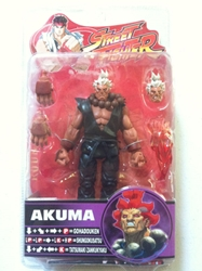 Picture of Street Fighter Round 4 Akuma Action Figure