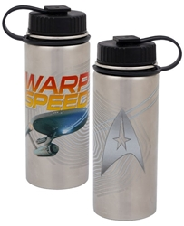 Picture of Star Trek Warp Speed 18 oz. Vacuum-Insulated Stainless Steel Water Bottle